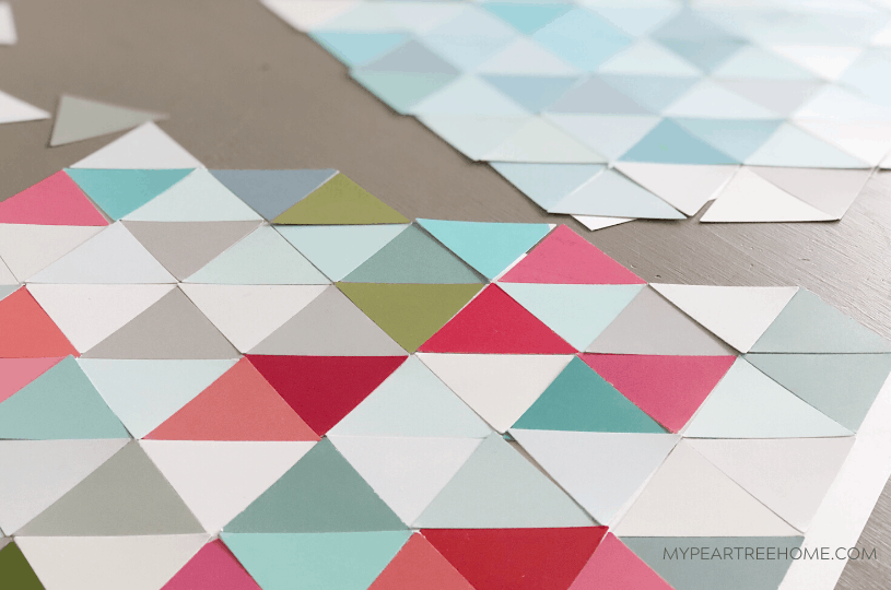 How to Use Paint Chips for DIY Art