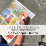 Take a Walk with a Scavenger Hunt