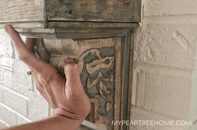 hanging a corbel with gorilla glue