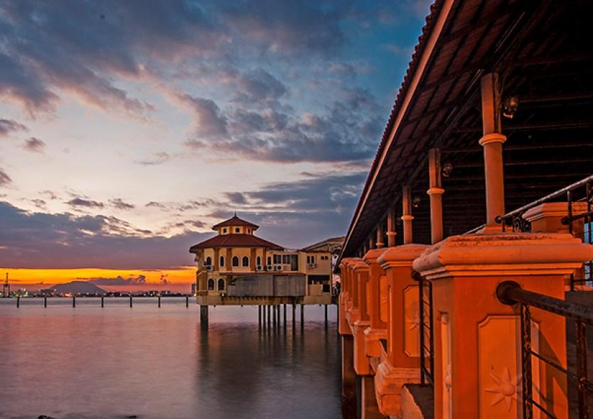 Image result for swettenham pier at sunset