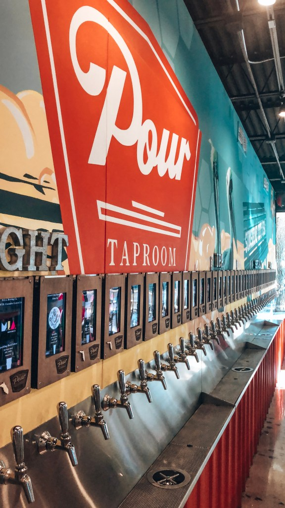 Pour taproom in St. Petersburg, Florida