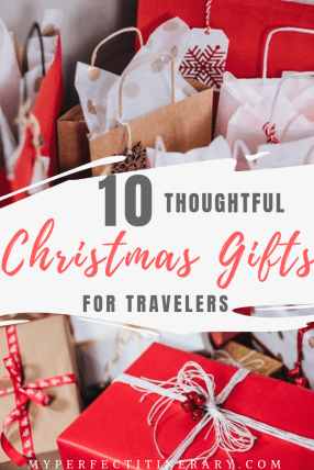 10 Thoughtful Christmas Gifts for Travelers, 10 stocking stuffers for travel lovers, thoughtful Christmas Gifts for someone going on a trip