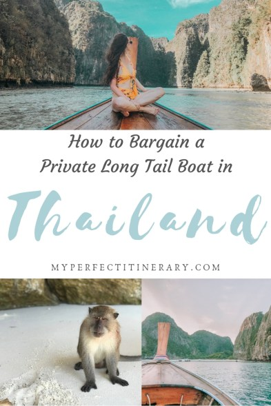 Island Hopping in Thailand where you can see Maya Bay, Monkey Beach, Phi Phi Island, Pileh Lagoon and more!