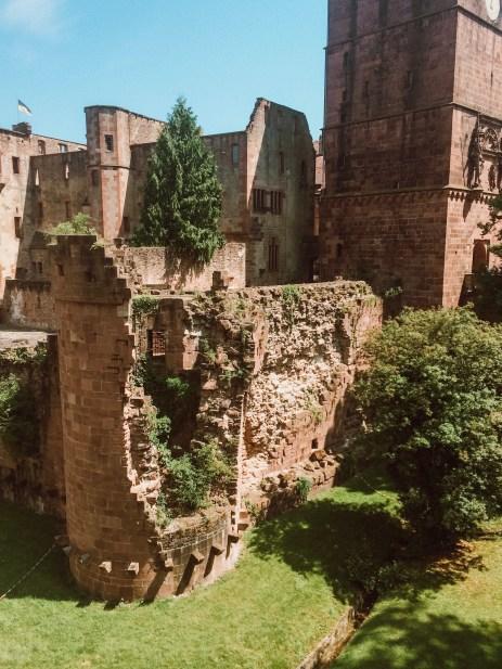 Castle in Heidelberg, Germany