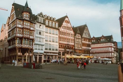 Romerburg Square, Frankfurt