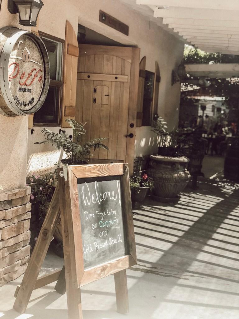 Doffo Winery in Temecula California