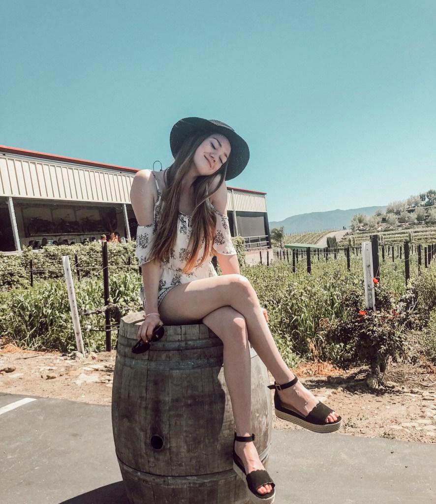wine tasting in Temecula California