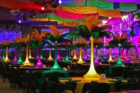 Mardi Gras Centerpiece Decorations