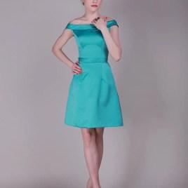 aqua dama dress