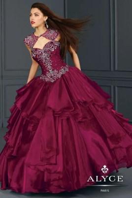 Arabian Nights quinceanera theme dress