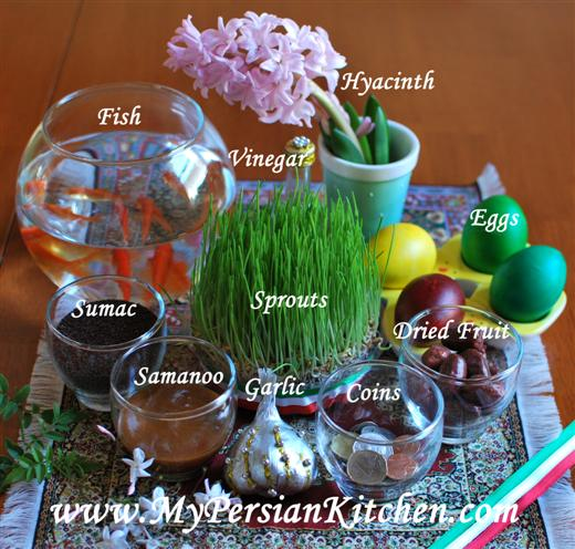 Iranian Nowruz: New Year in Iran and the West | News About ... Persian Haft Seen