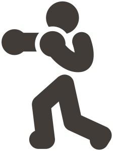 Boxing figure