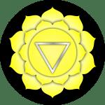 Yellow solar plexus chakra by Peter Lomas