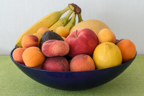 a bowl of fresh fruits