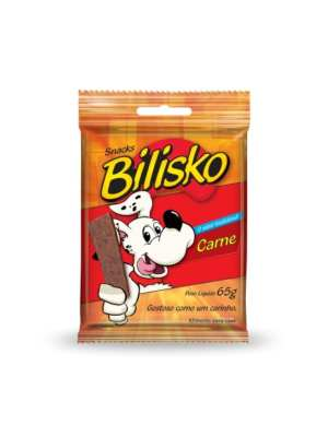 Bifinho Bilisko Cães 65g Carne - 10 unidades