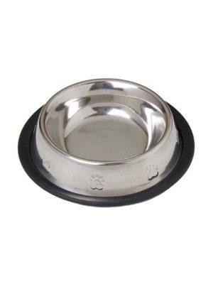 Comedouro Aço Inox Cães 720ml