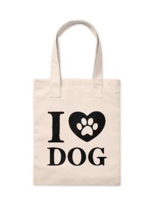 Ecobag I Love Dogs P