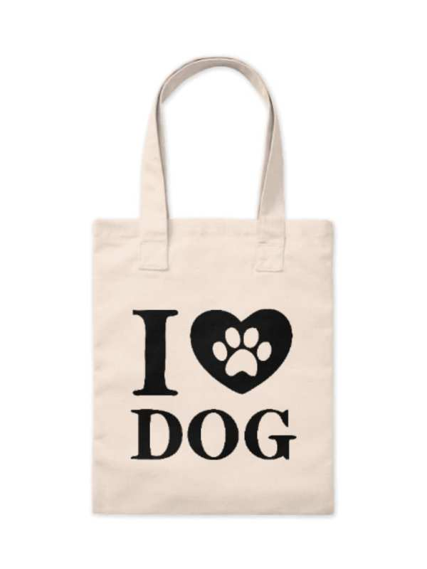 Ecobag I Love Dogs P
