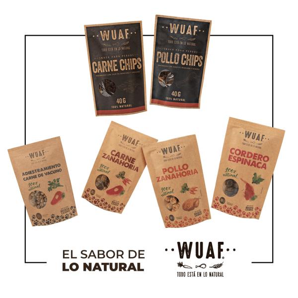 Presentación productos WUAF