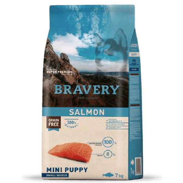 Bravery Mini Puppy Salmón 2 Kg
