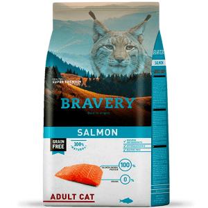 Bravery Gato Adulto Salmón