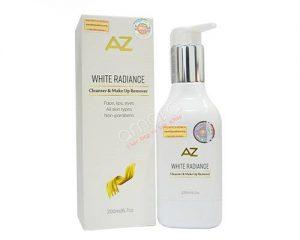 Sữa rửa mặt và tẩy trang đa chức năng AZ White Radiance
