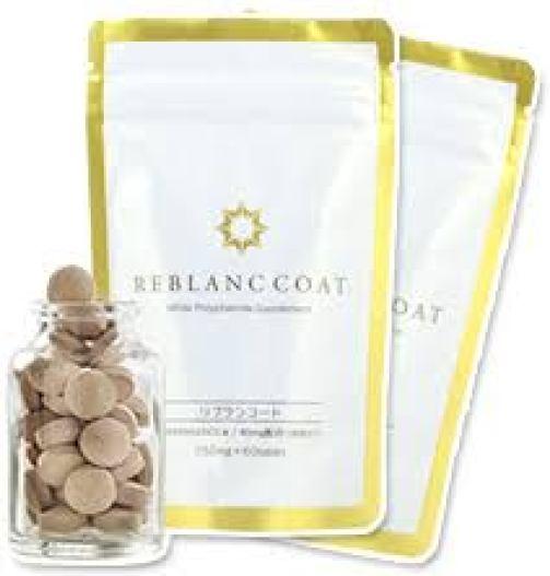 Sản phẩm viên kháng sắc tố đen Reblanccoat có thiết kế dạng viên nén