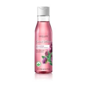 32623 oriflame - Dầu gội cho tóc gàu Love Nature Shampoo For Dandruff Control Tea Tree Oil & Burdock 250ml