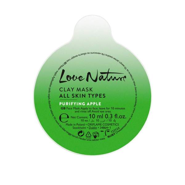 mặt nạ oriflame Love Nature Clay Mask All Skin Types Purifying Apple 34864