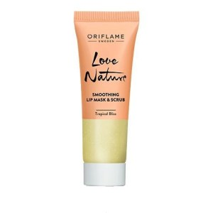 37578 oriflame mặt nạ môi love nature Smoothing Lip Mask & Scrub Tropical Bliss