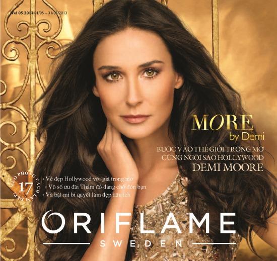 Catalogue mỹ phẩm Oriflame 5-2013