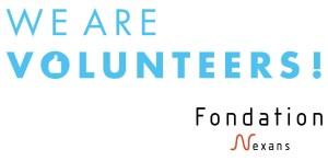 Logo We are volunteers Fondation Nexans