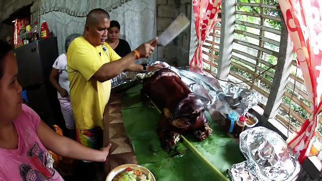 Chopping Pig