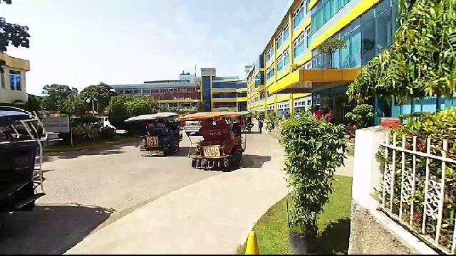 Entering Silliman Hospital