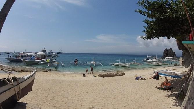 Apo View of Beach and Coco Explorer