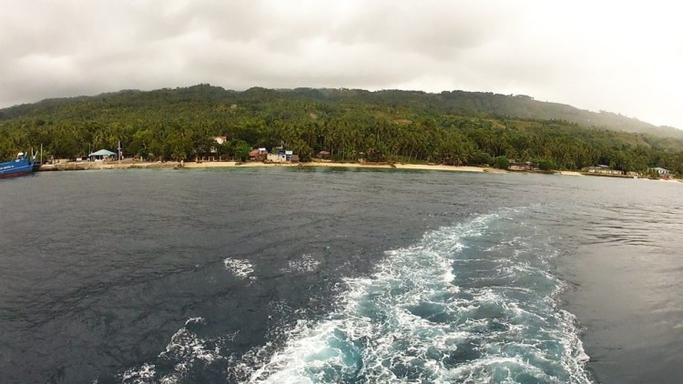 Leaving cebu ferry