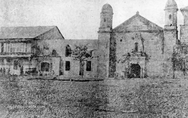 Tigbauan Church 1909