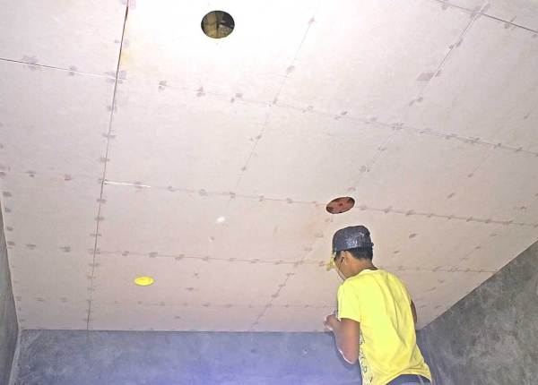 Our Philippine House Project Ceiling Support System And Ceilings My Philippine Life