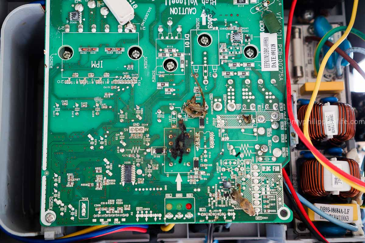A small lizard destroyed this $160 Samsung circuit board - TWICE