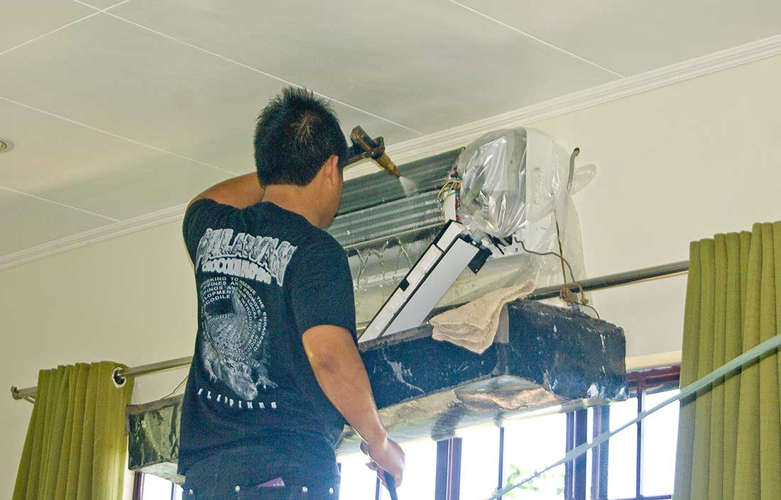 Cleaning Aircon My Philippine Life