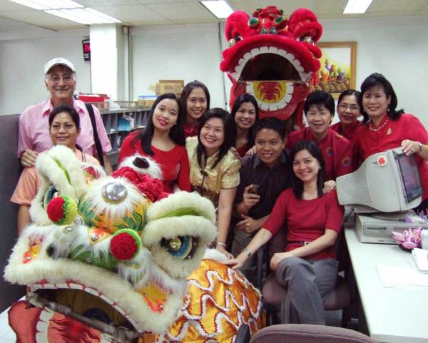 Lunar New Year Celebration, ChinaBank Mabini Branch, Iloilo City