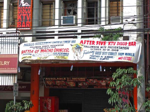 Gay and Straight Bar on J.M. Basa Street, Iloilo City