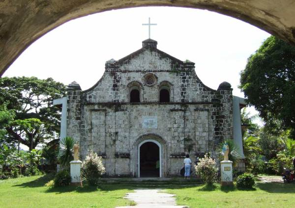 What a pretty country chapel in a quiet, beautiful setting, Navalas, Guimaras Island