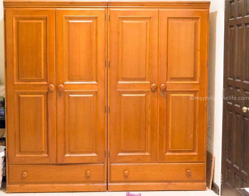We bought two of these huge wardrobes from Precious Gold.
