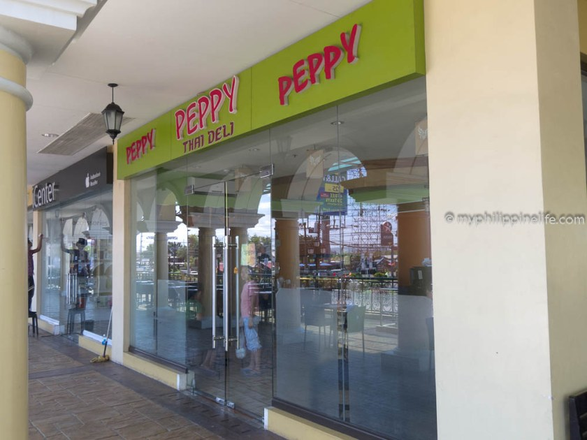 new Peppy Thai at the Plazuela de Iloilo