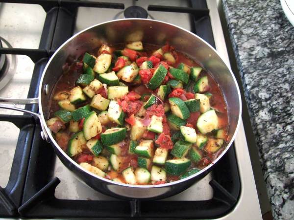 Ratatouille vegetable stew
