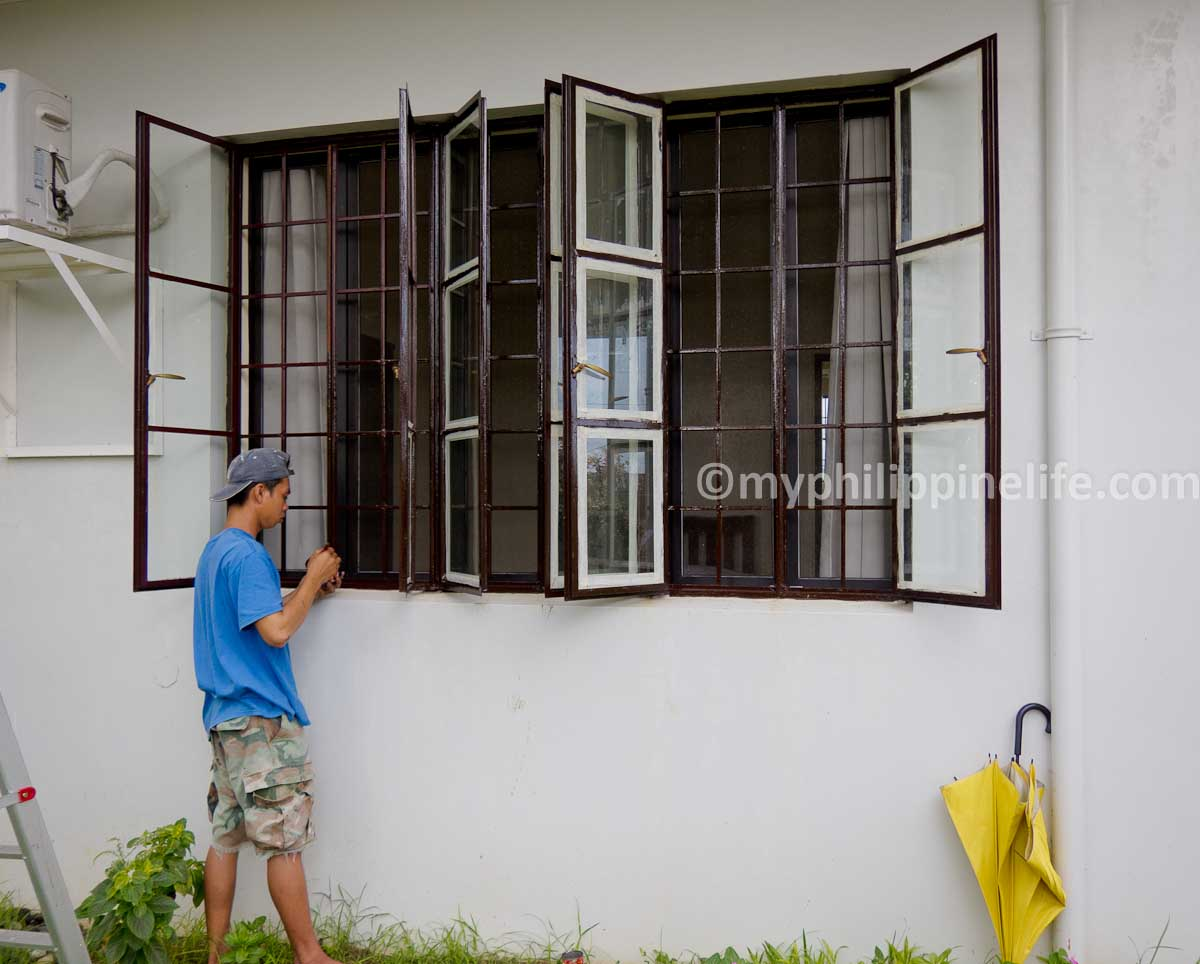 Our Philippine House Project: Windows | My Philippine Life on