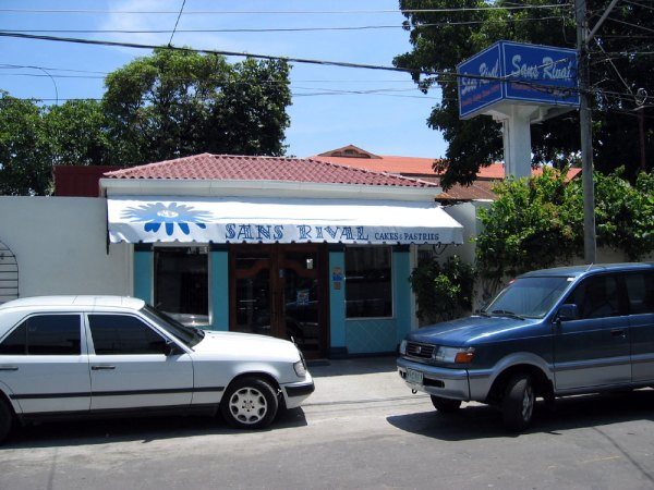 Sans Rival Bakery and Restaurant, Dumaguete - one of my favorites