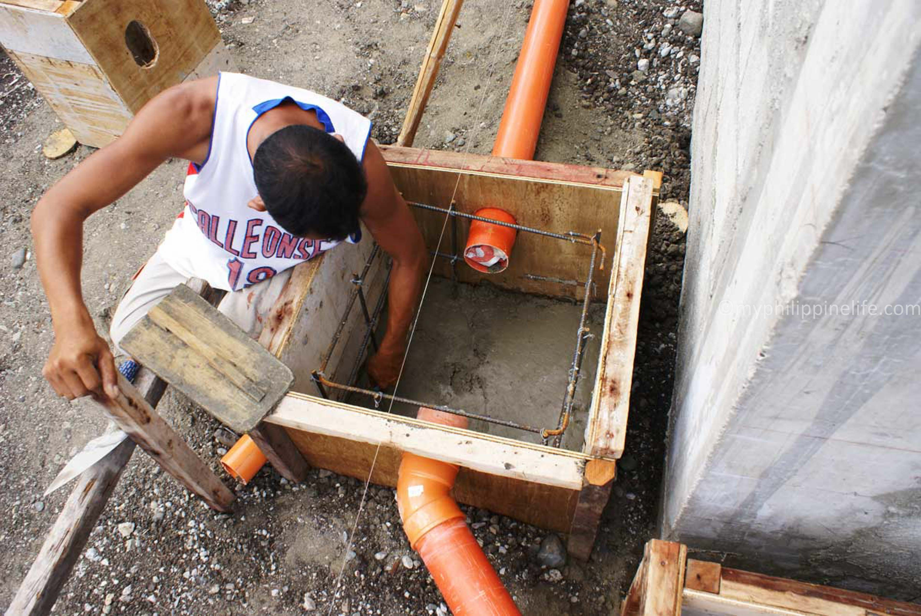 Our Philippine House Project Septic And Drainage Systems
