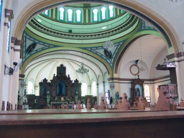 Silay Church interior